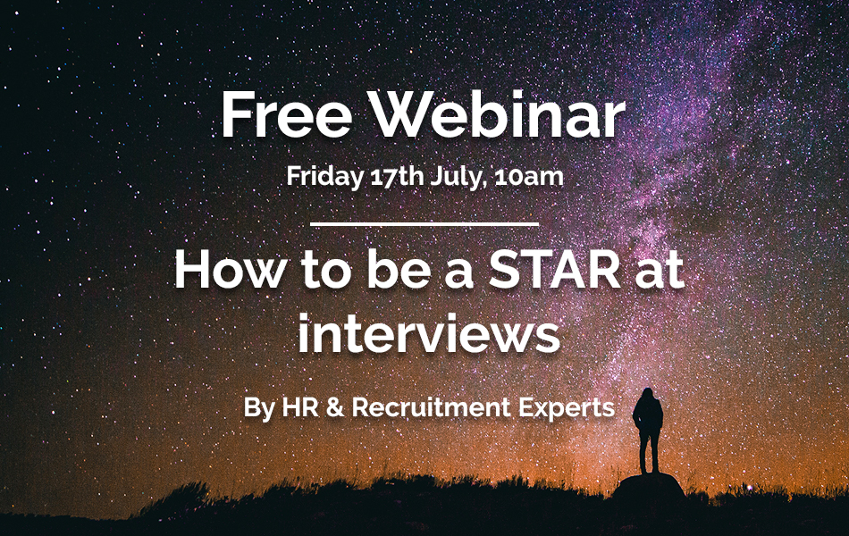 Free Webinar: How to be a STAR at Interviews
