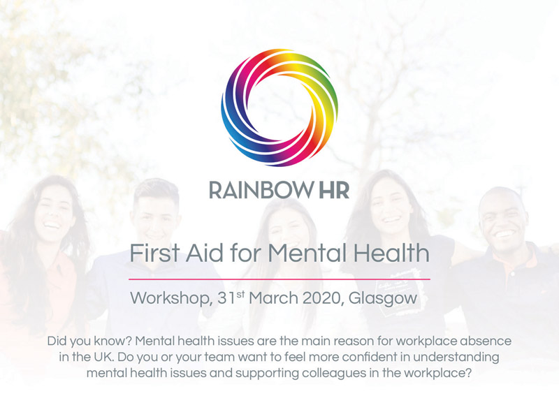 First Aid for Mental Health Workshop